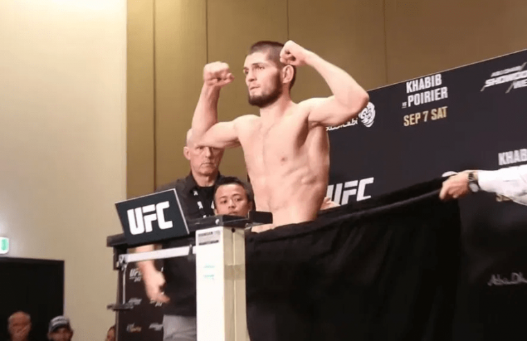 UFC 242 Weigh-In Results