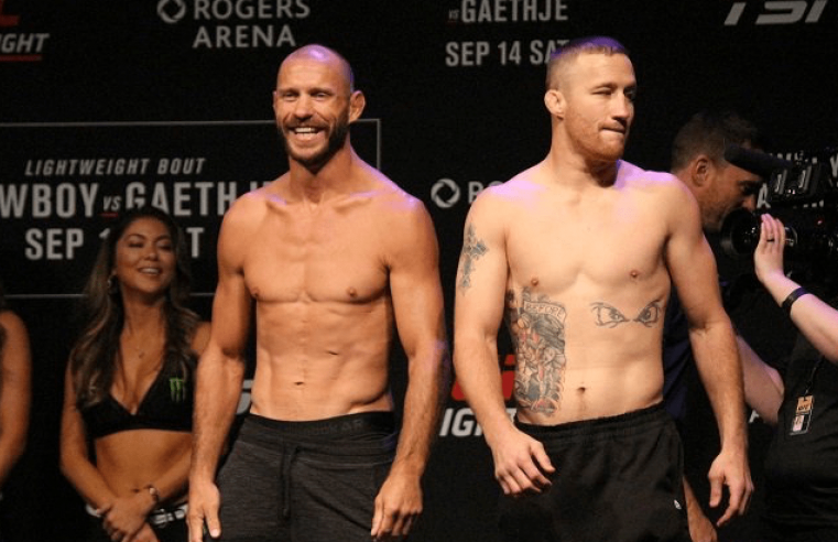 UFC Vancouver Results: 'Cowboy' vs Gaethje
