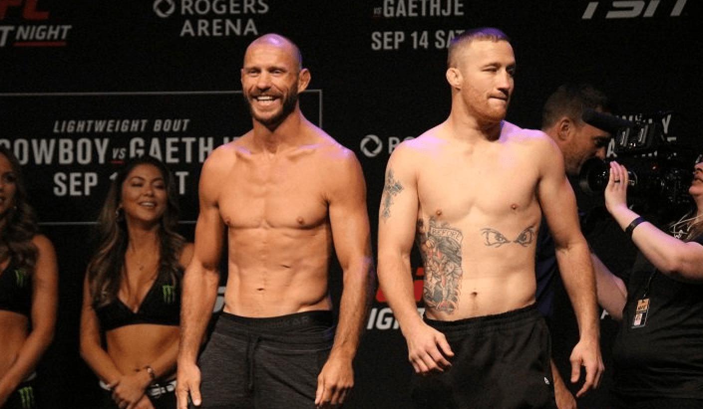 UFC Vancouver Results: 'Cowboy' vs Gaethje