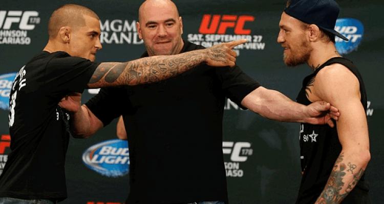 Dustin Poirier vs Conor McGregor UFC 178