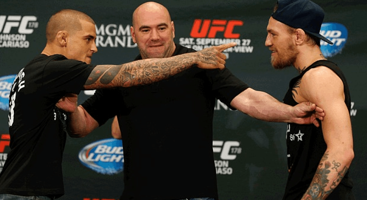 Dustin Poirier vs Conor McGregor UFC 178