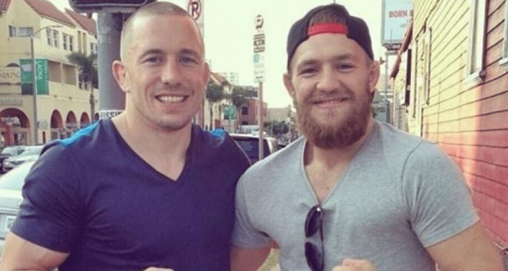 UFC Georges St-Pierre, Conor McGregor, GSP