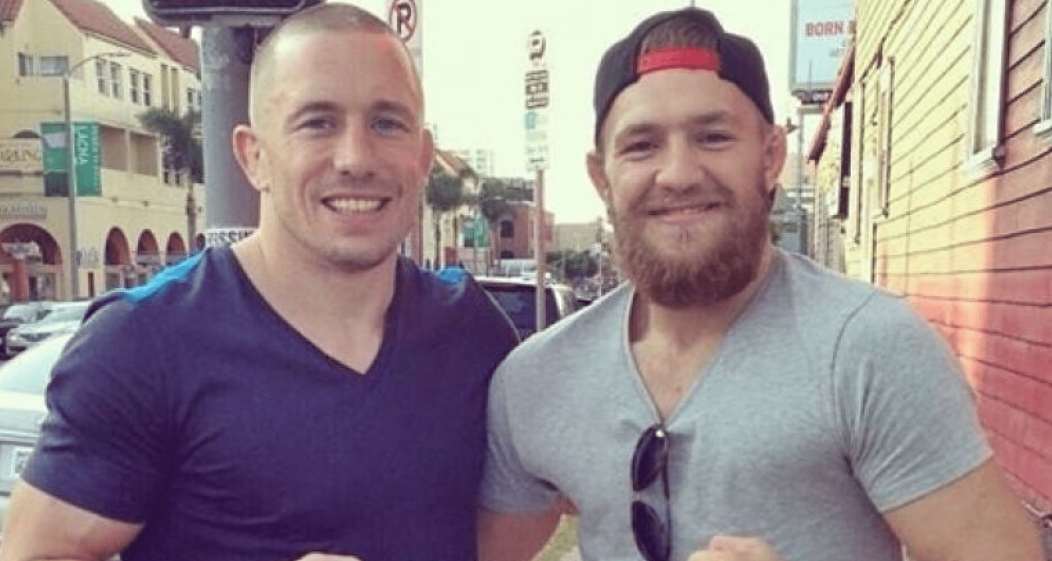 UFC Georges St-Pierre, Conor McGregor, GSP