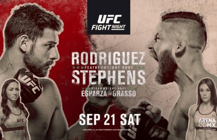 UFC Mexico Results: Rodriguez vs Stephens