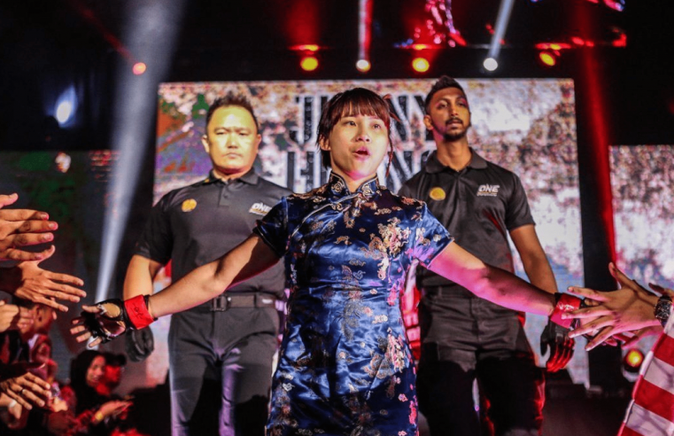 Jenny Huang Wants To Show The World She Has A New Fighting Style