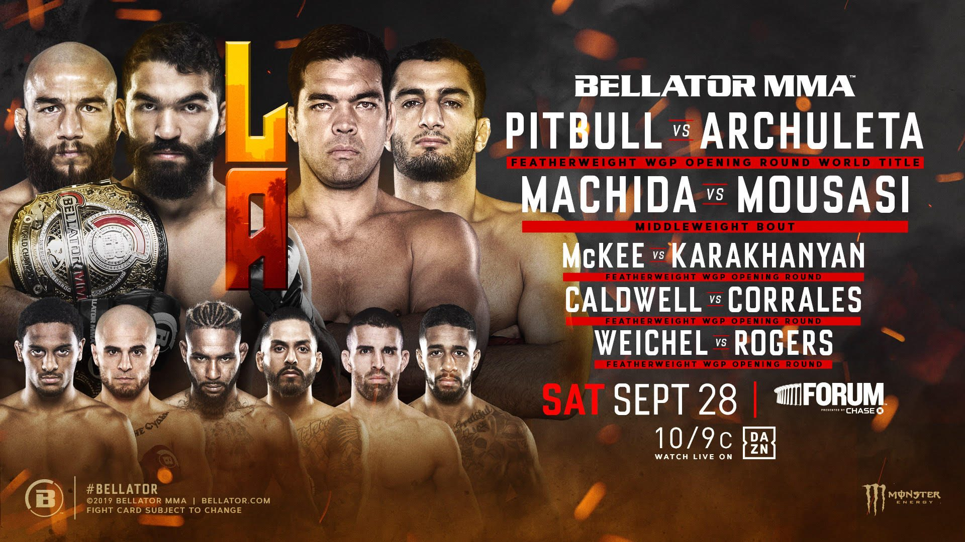 Bellator Featherweight Grand Prix Selection Show To Take Place During Bellator 228