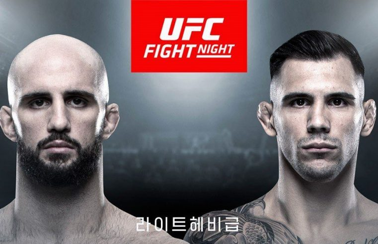 Two Fights Announced For UFC Busan In December