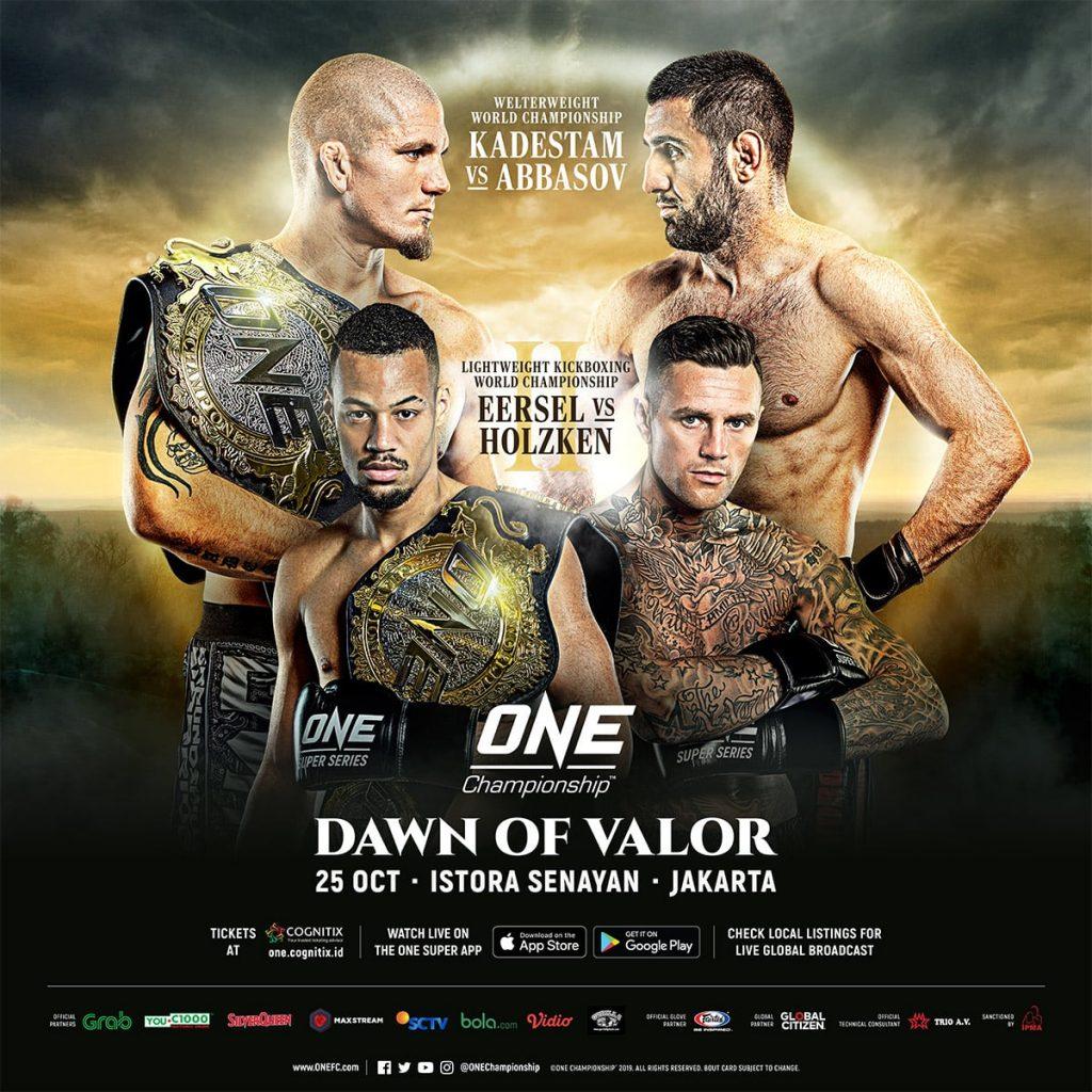 ONE: Dawn Of Valor Kadestam vs Abbasov