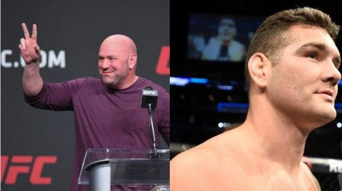 Dana White Thinks Chris Weidman May Go Back To 185 Lbs Or Retire