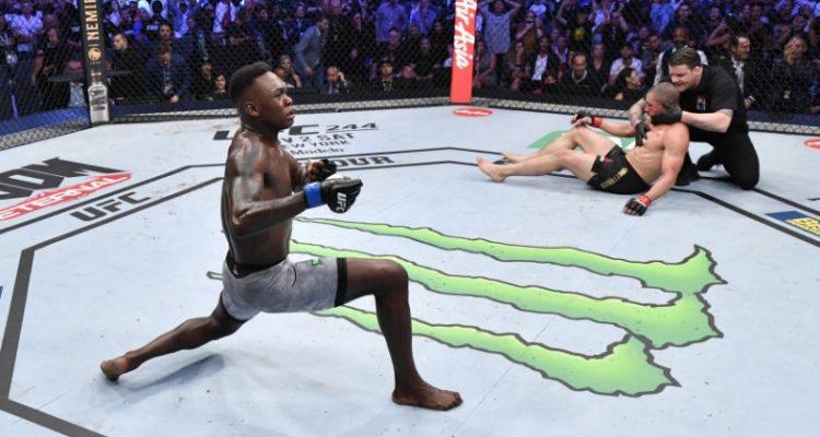 UFC 243 Israel Adesanya vs Robert Whittaker