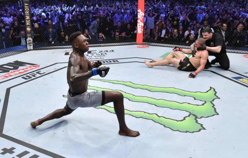 UFC – Israel Adesanya On Paulo Costa: I'm Knocking Him Out