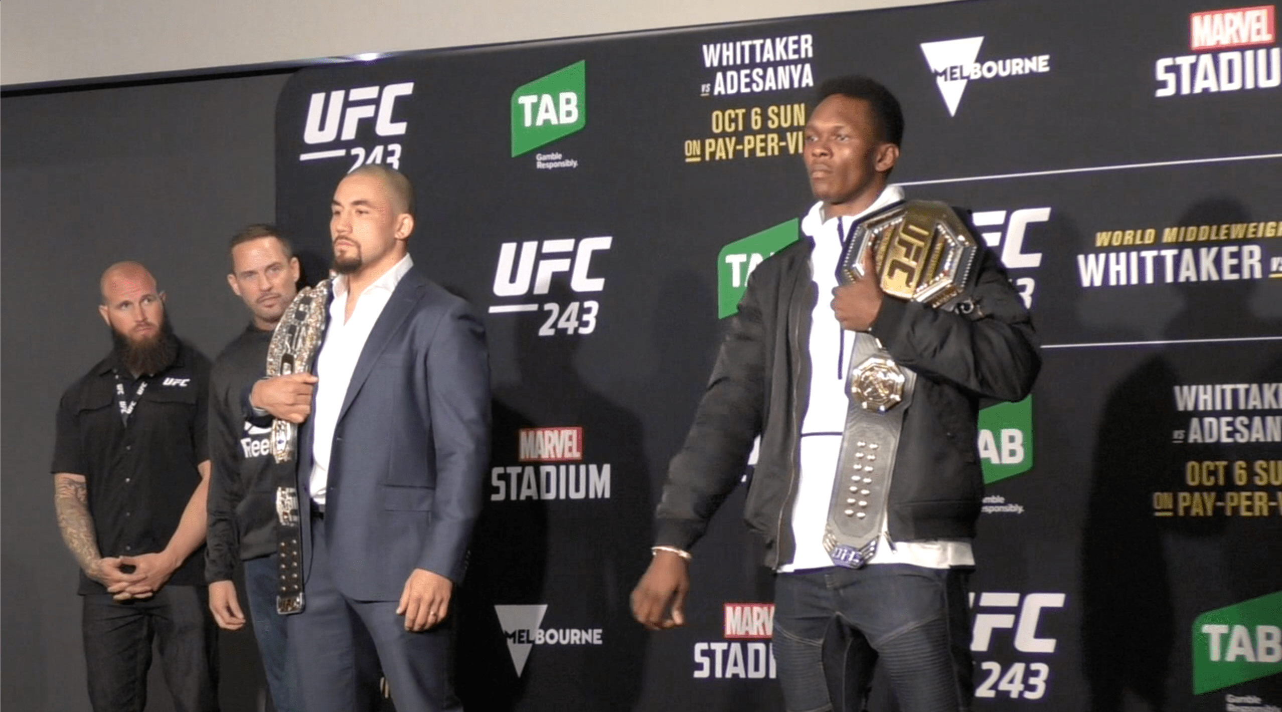 UFC 243 Pre-Fight Interviews, Open Workouts And Weigh-In Video