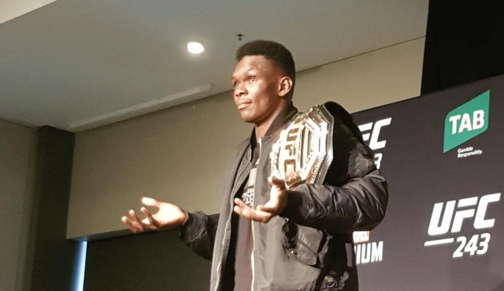 Israel Adesanya UFC 243
