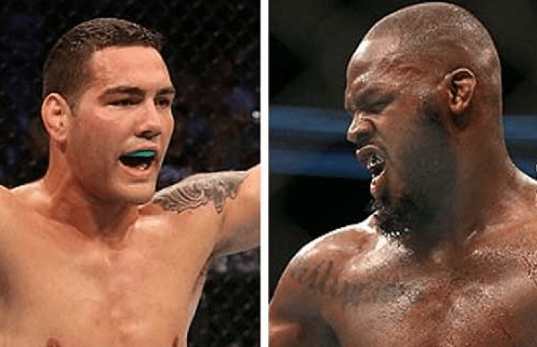 Chris Weidman Calls Out Jon Jones Again