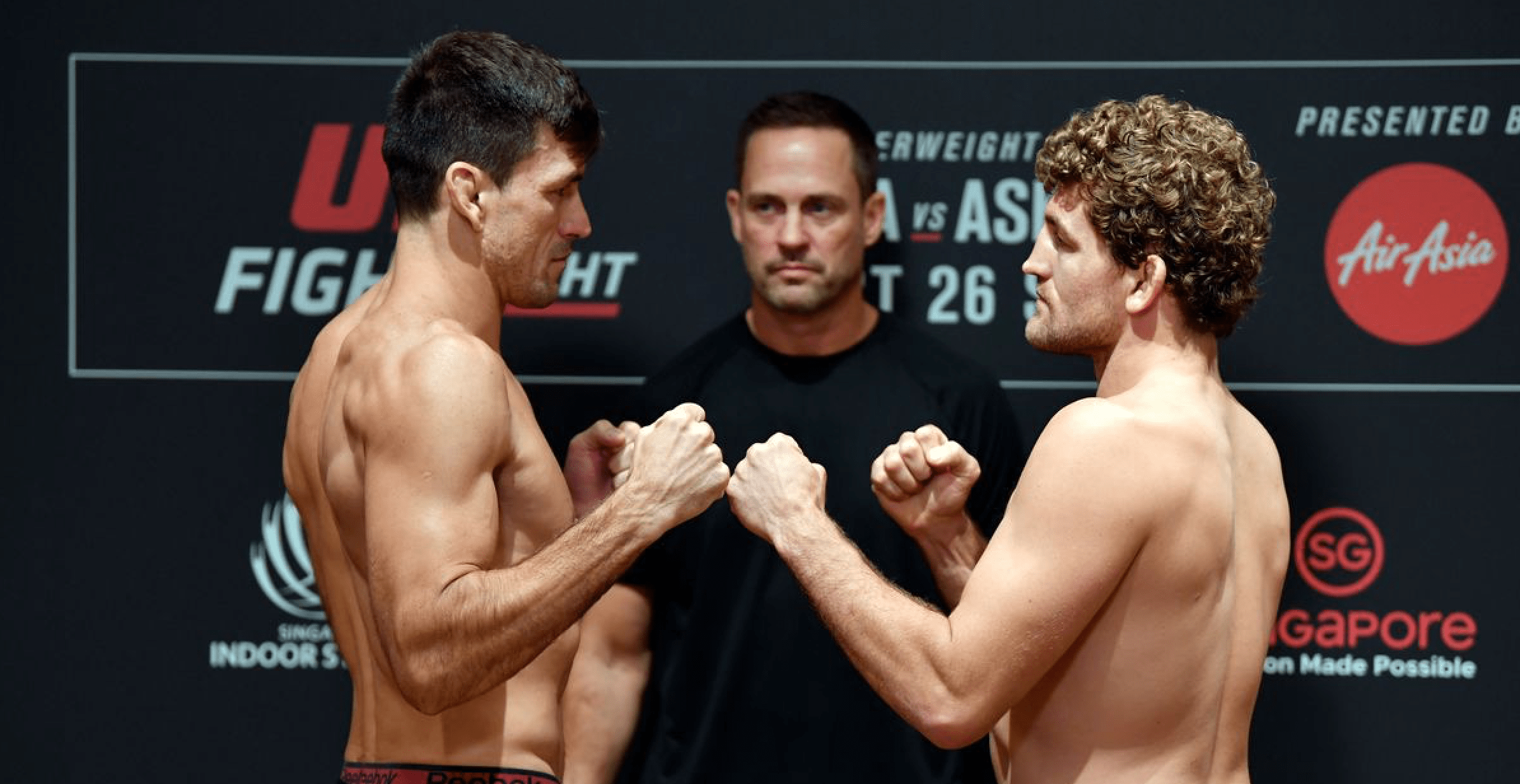 UFC Singapore Results: Maia vs Askren