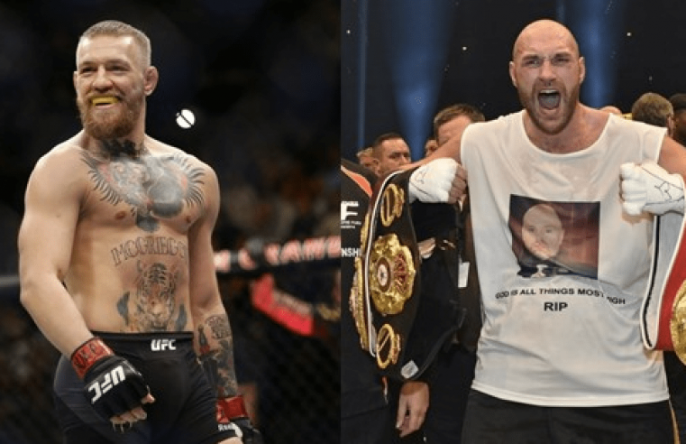 Tyson Fury Backing Conor McGregor To Beat Dustin Poirier In The Trilogy