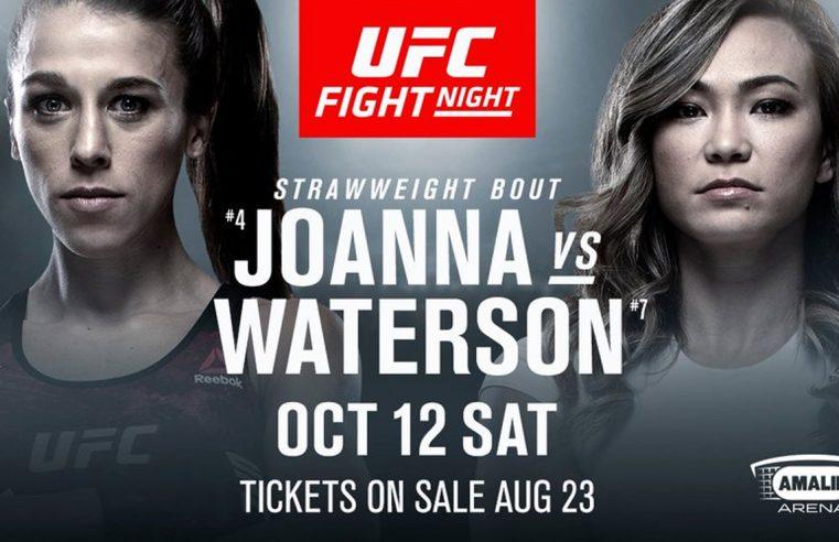 UFC Tampa: Jedrzejczyk vs Waterson Results