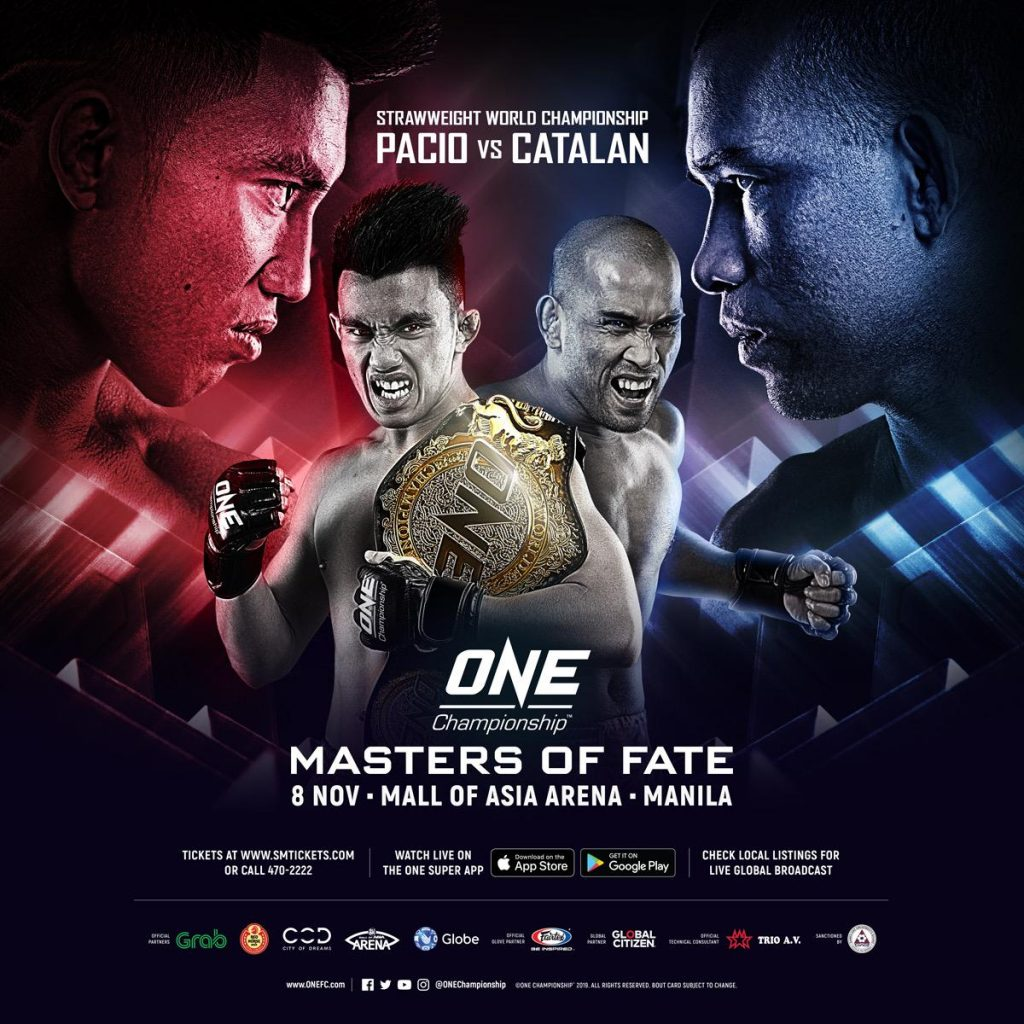ONE: Master Of Fate poster
