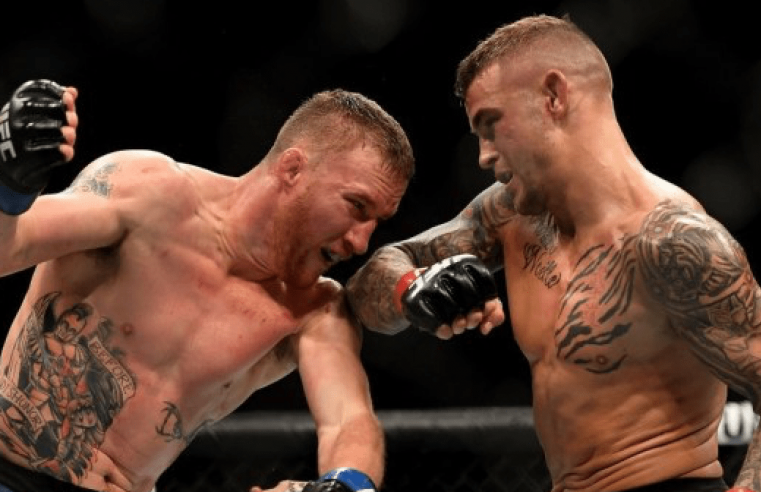 Poirier and Gaethje Argue Their Cases To Fight McGregor And Khabib