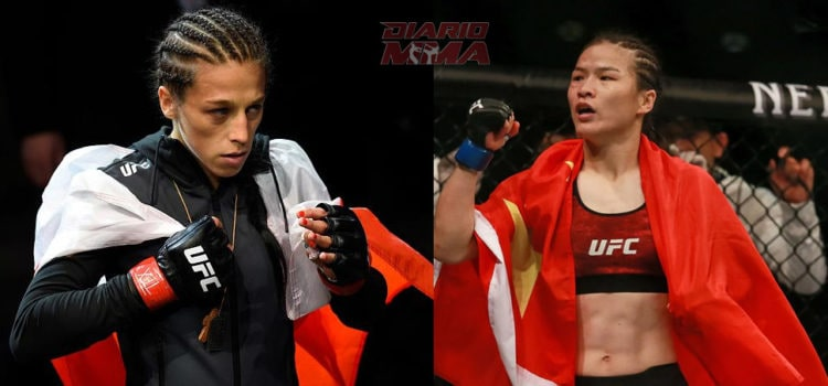 UFC – Zhang Weili: I'll Beat Joanna Jedrzejczyk In One Or Two Rounds