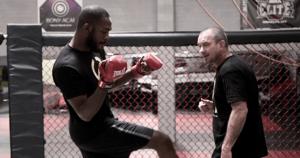 UFC Jon Jones and Mike Winkeljohn