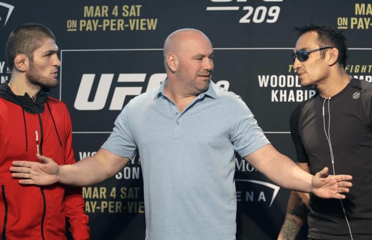 UFC: Dana White, Javier Mendez & Ali Abdelaziz Talk Khabib vs Ferguson