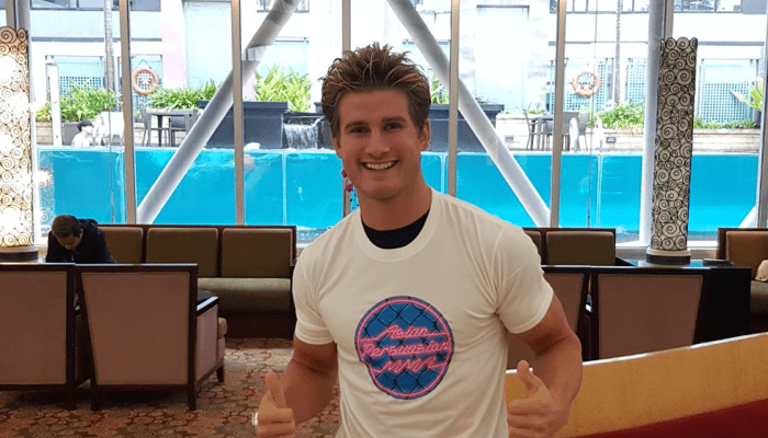 Sage Northcutt In APMMA Tee Shirt