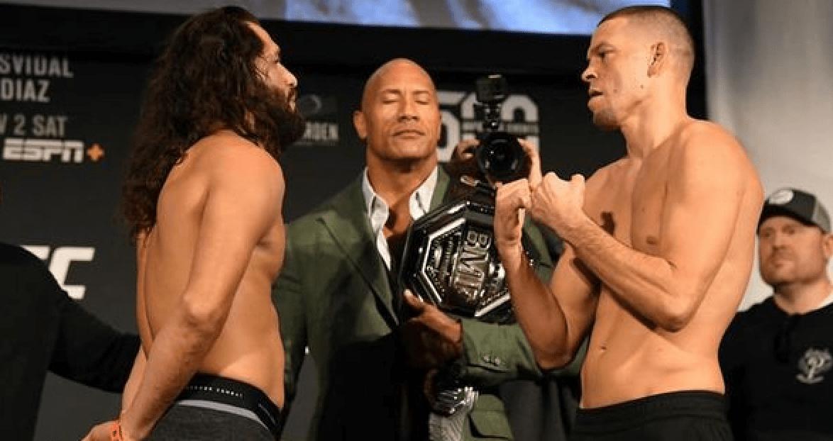 UFC 244: Masvidal vs Diaz Results