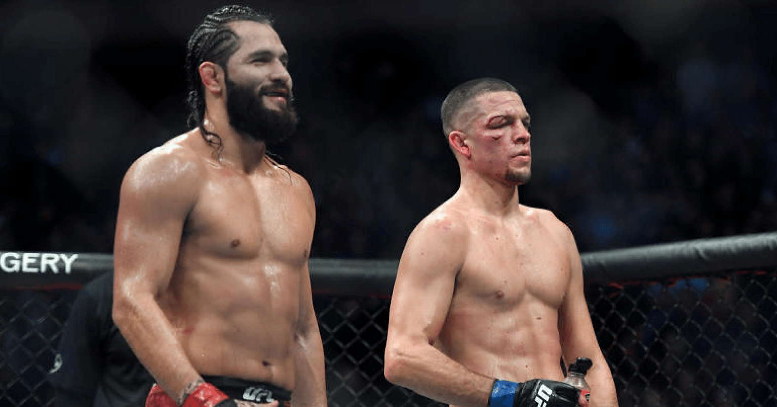 UFC 244 Jorge Masvidal vs Nate Diaz