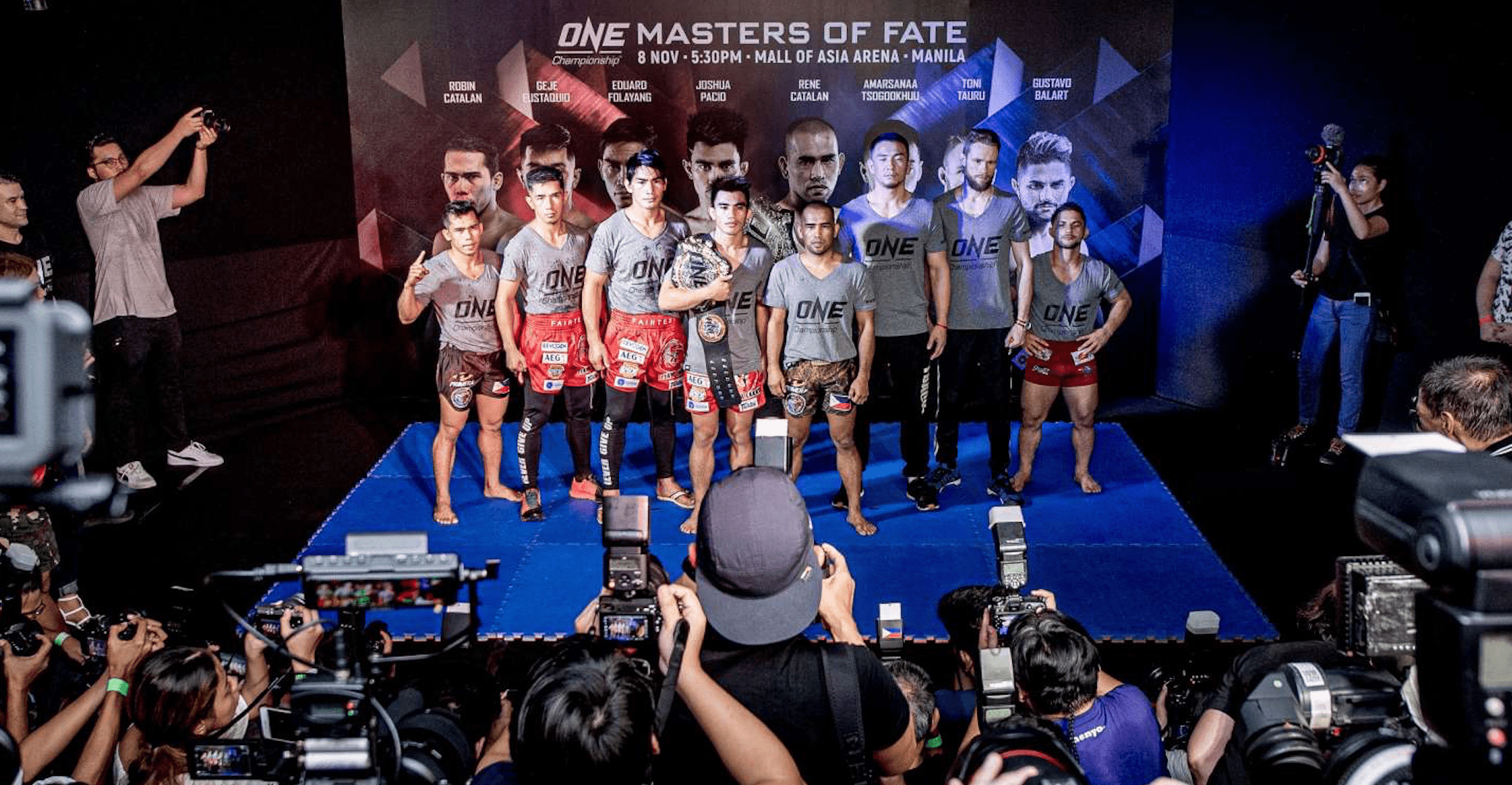 ONE: Masters Of Fate Weigh-In And Hydration Tests Results