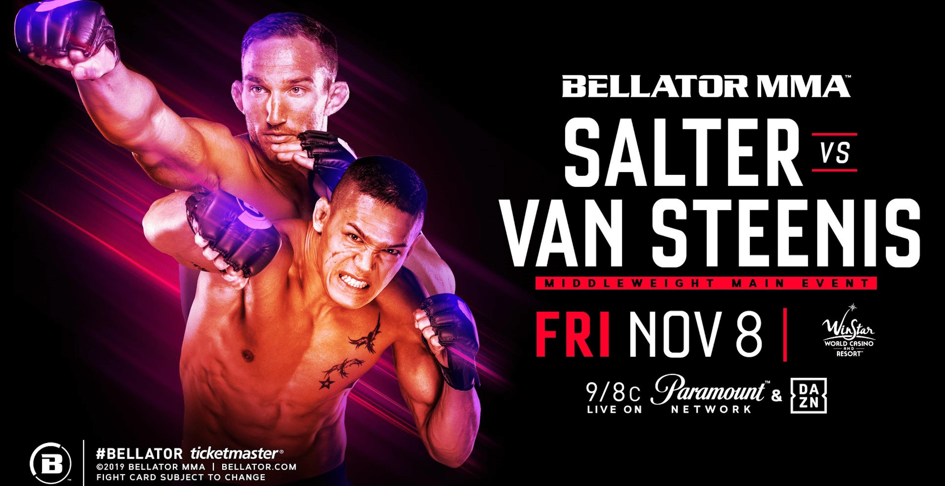 Bellator 233: Salter vs Van Steenis Results