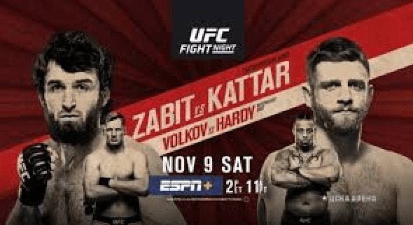 UFC Moscow: Magomedsharipov vs Kattar Results