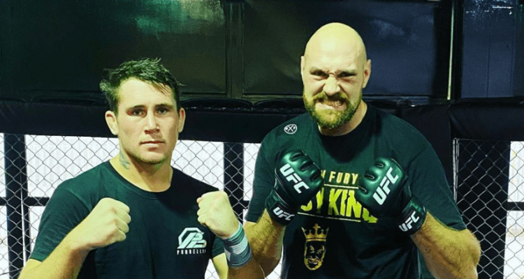 UFC Boxing Darren Till and Tyson Fury