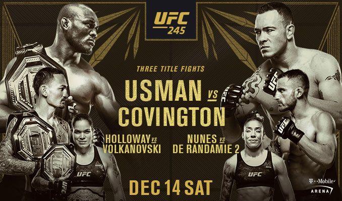 UFC 245 Pre-Fight Videos