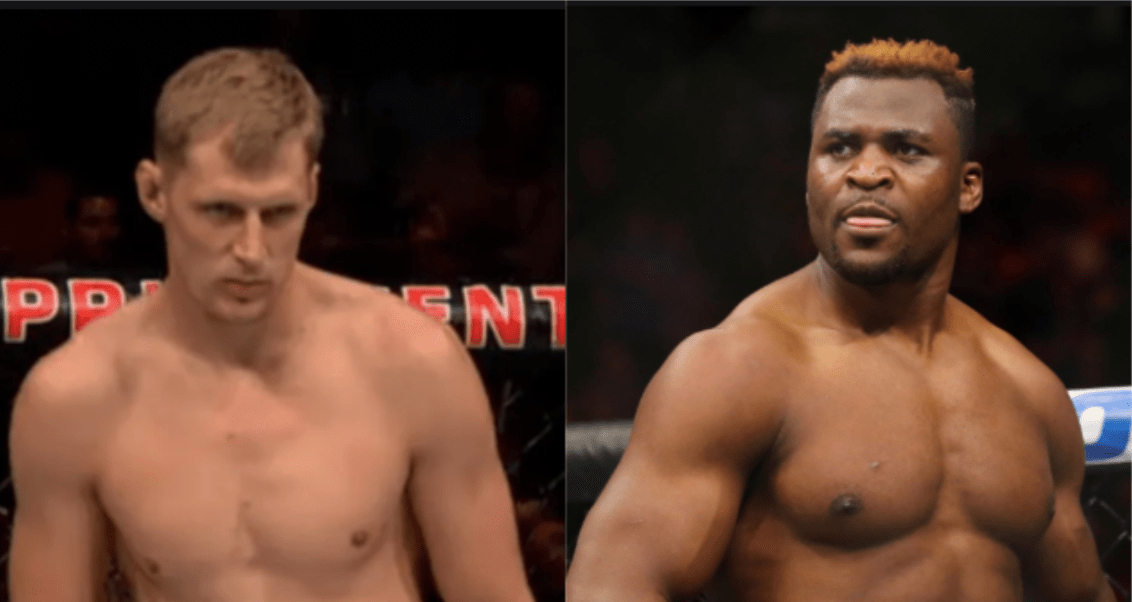 UFC: Francis Ngannou And Alexander Volkov Trade Shots