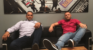 UFC Audie Attar and Conor McGregor