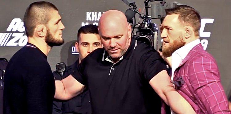 Dana White And Ali Abdelaziz Comment On Khabib vs McGregor TUF Talk