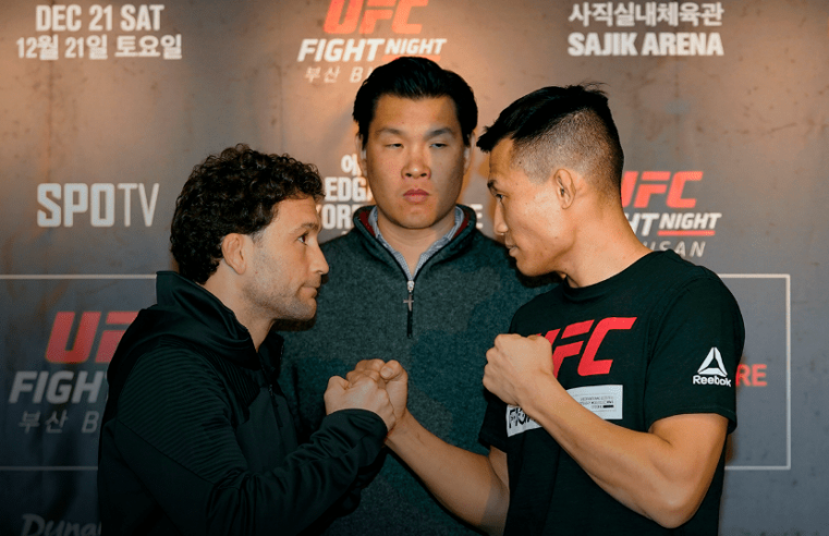 UFC Busan Pre-Fight Videos