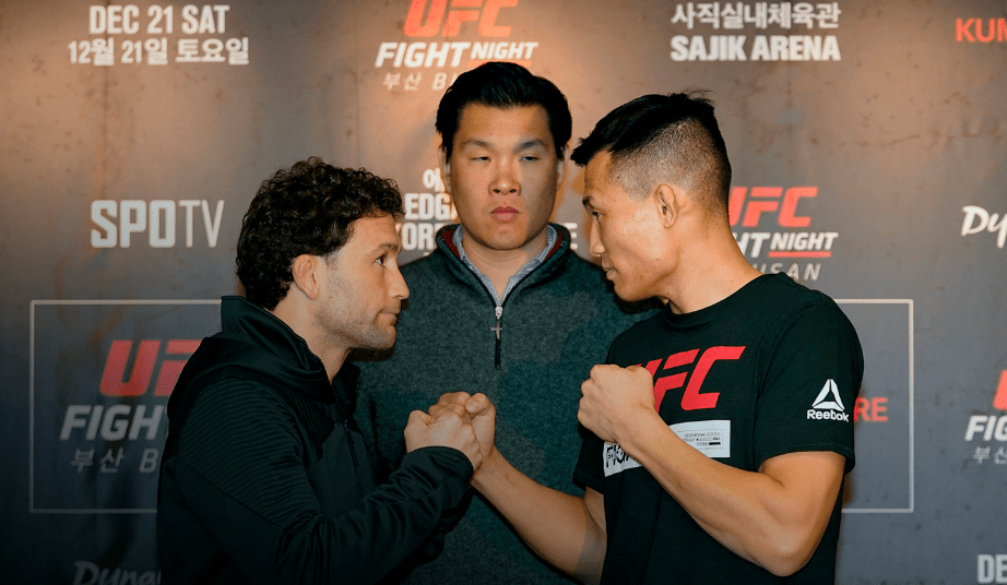 UFC Busan Pre-Fight Videos