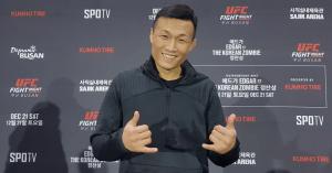 The Korean Zombie at UFC Busan