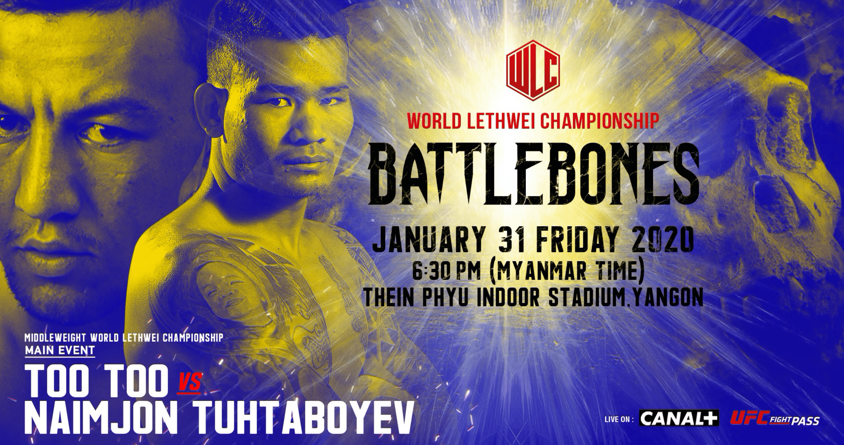 WLC: Battlebones – Naimjon Tuhtaboyev On Too Too: I Will Knock Him Out