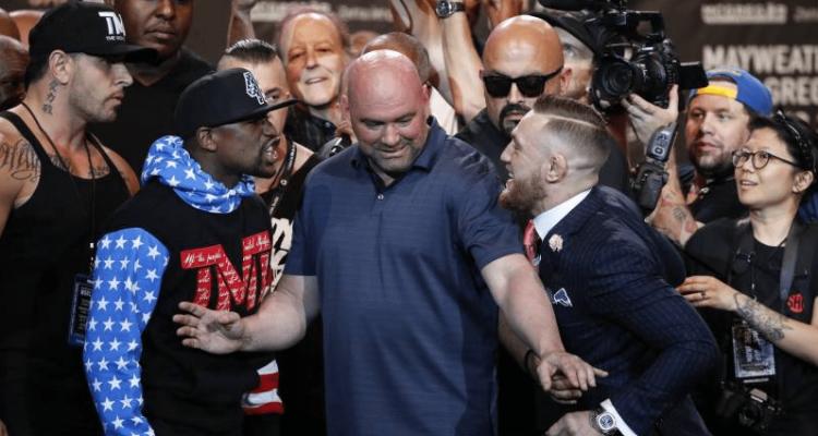 UFC , Floyd Mayweather, Dana White, Conor McGregor