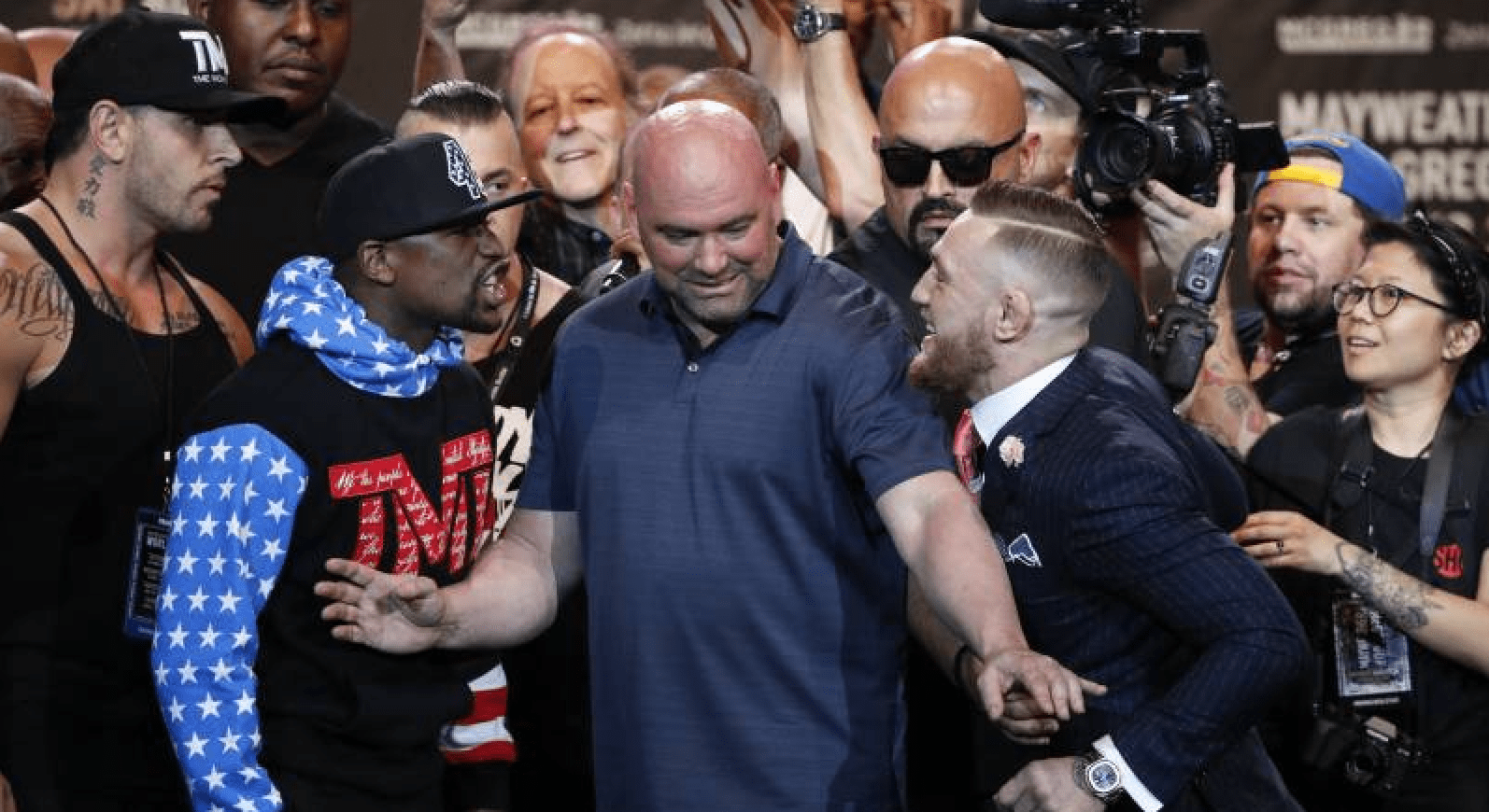 Floyd Mayweather: Conor McGregor, I'll Whip Your Ass Again