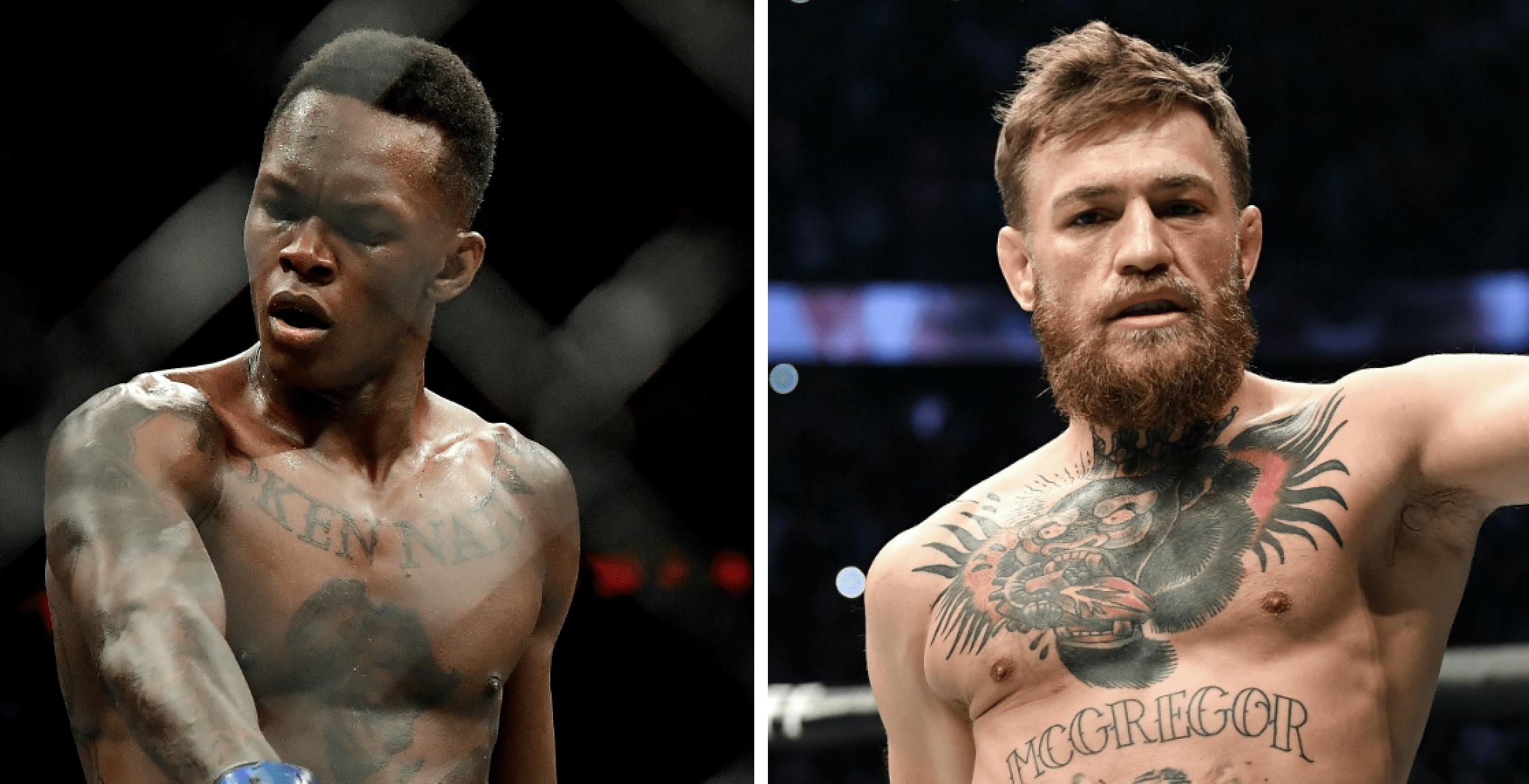 UFC: Israel Adesanya Talks Conor McGregor And Defending His Title