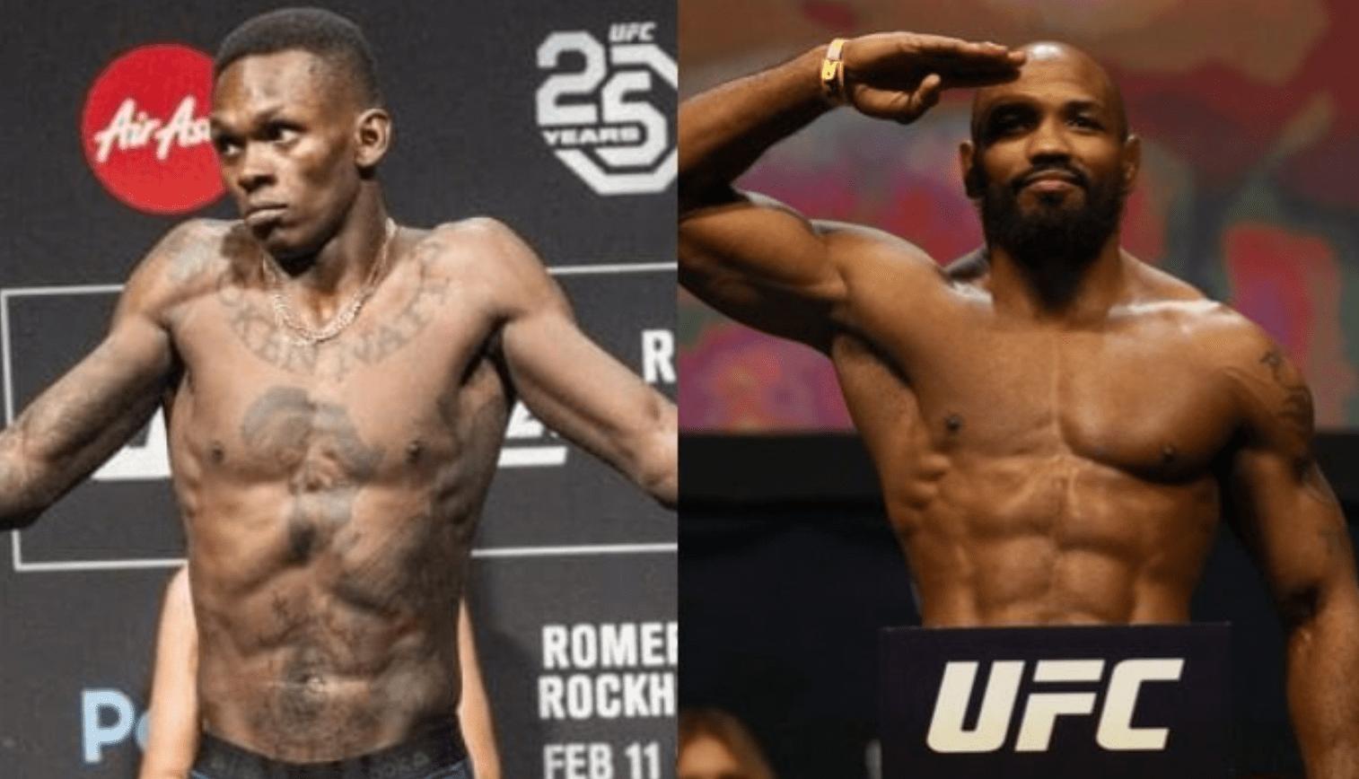 UFC: Israel Adesanya Isn't Afraid Of Yoel Romero
