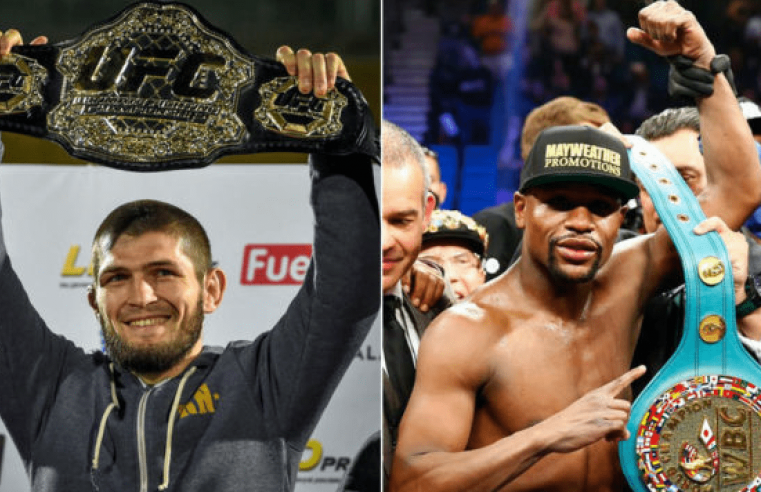 UFC: Team Khabib Want Special Rules Fight With Floyd Mayweather