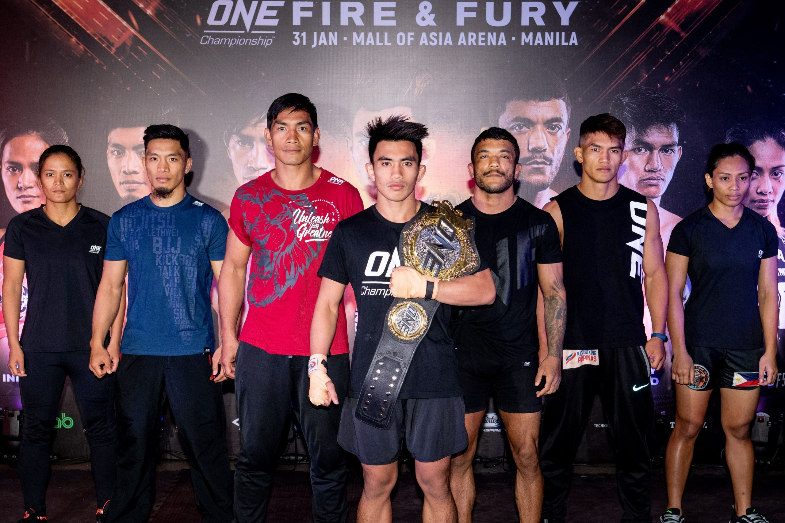 ONE: Fire And Fury Pre-Fight Interviews