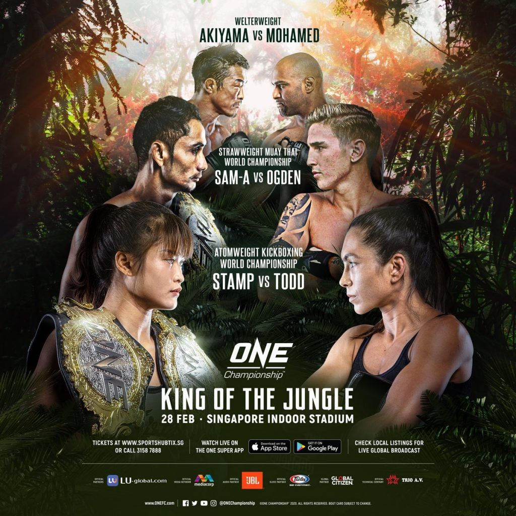 ONE: King Of The Jungle