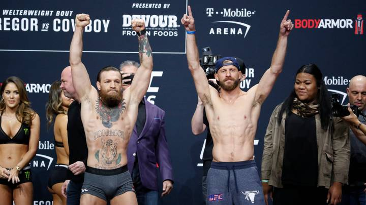 UFC 246: McGregor vs 'Cowboy' Results