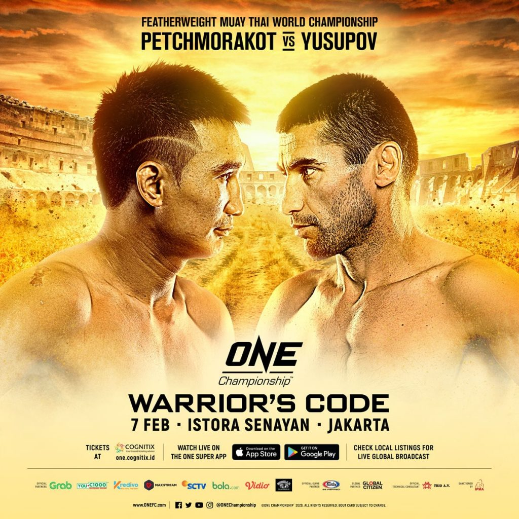 ONE: Warrior's Code Petchmorakot vs Jamal Yusupov
